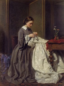 A Victorian dressmaker, much like Alice's mother.