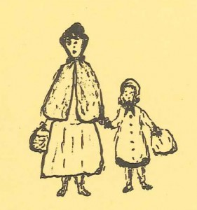 Kathleen with her 'Grannie', taken from the front page of Grannie's Girl