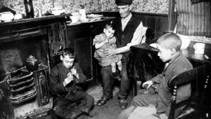 20th Century Working Class Family