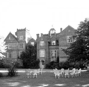 Gissing Hall, where Peace Day was celebrated.