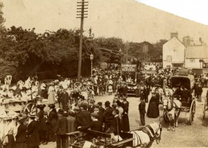 Town procession Nr. Derby, early 1900's. http://bygonesderby.wordpress.com/2011/11/02/town-procession/