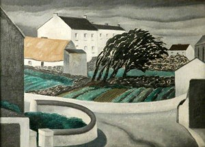 'An Aran Village', by John Bold. A twelve peice collection of John's work can be found by clicking this image.