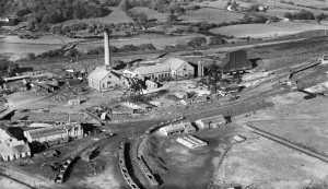 Gresford Colliery in October, 1934 - http://heritageofwalesnews.blogspot.co.uk/2012/06/britain-from-above-rare-and-fragile.html