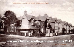 One of the buildings in John Groom's Orphanage