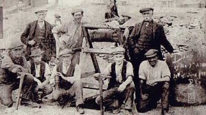 This picture was taken in Ponicau Banks in 1921 during the coal mining strike - http://www.bbc.co.uk/wales/coalhouse/sites/ugc/pages/davidwilliams.shtml