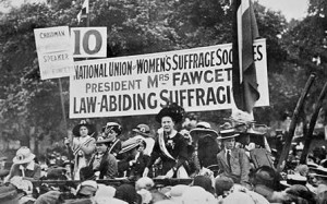 Suffragette movement 1