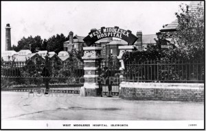 Wset Middlesex Hospital, where Charles Keen, Molly Keen's father, volunteered during the war