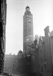 Westminster Cathedral in the 1950s. Molly Keen's father, Charles Keen completed work here occassionally.