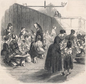 A Victorian dame school classroom http://www.bbc.co.uk/schools/primaryhistory/victorian_britain/children_at_school/