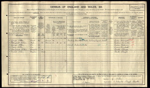 1991 Census for the Allen Family