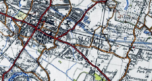 Aerial Map of Slough