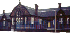Low Road Primary School. Built 1878. picture 1968