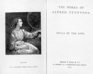 Elaine_frontispiece_from_Idylls_of_the_King_by_Alfred_Tennyson