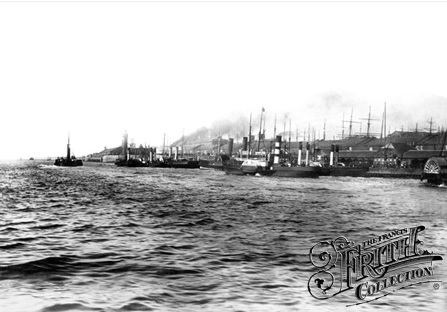 Landing Stages, Liverpool, 1890