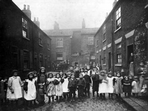 Leeds, working class children, dwelling