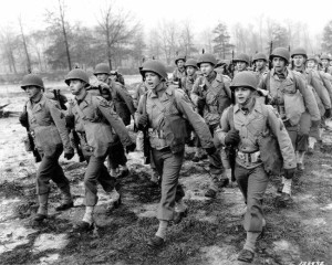 Soldiers during World War Two