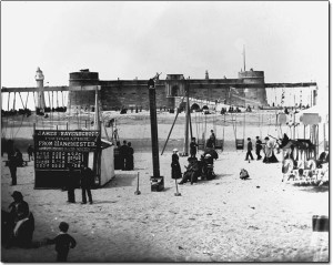 New Brighton Beach, 1880s