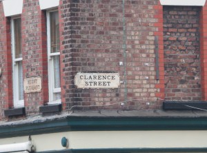 Clarence Street, where the Pupil -Teacher Training College once stood.