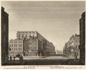Drury Lane, London - Place of Collinson's second home