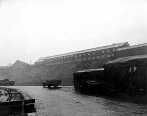 Veiw of the Foundry from the railway 1946