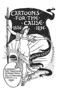 'Cartoons for the Cause' by Walter Crane 1896.