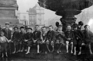 Children from Liverpool workhouse on a day trip