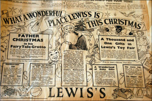 Lewis's Christmas Advertisement