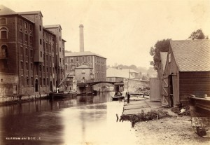 Norwich, Colman's mustard factory on the River