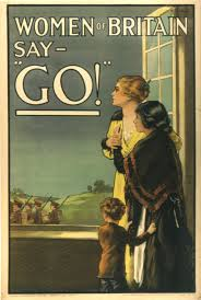 War Poster 'Women of Britain Say - Go!'