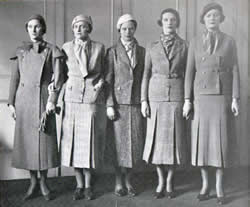 Example of 1930s fashion