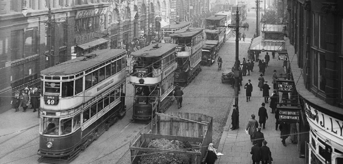 1920s Manchester, this would have been the backdrop of Mary's childhood