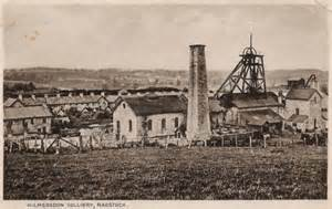 Kilmersdon Colliery, Radstock. An example of the type of location George would have worked at.