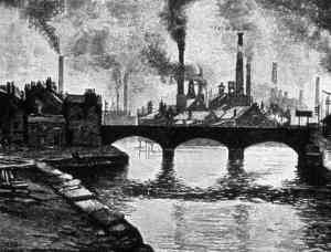 Image of the Industrial Era, Great Britain