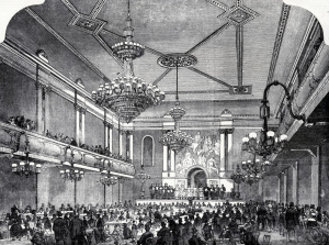 The Interior of Canterbury Music Hall, Lambeth, London, 19th century