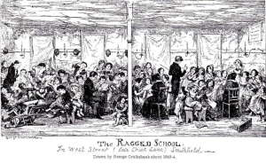 The Ragged School In West Street (late Chick Lane) Smithfield, 1846.