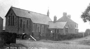 Mission Church & House. Unsworth Colliery