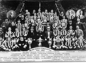 Newcastle United Football Team, 1910-1911