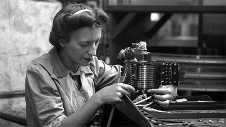 The demands of the war economy meant that old prejudices about what females could and should do were cast aside in the name of patriotism. Available at: http://www.bbc.co.uk/wales/history/sites/themes/periods/ww2_women.shtml