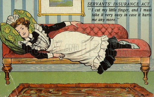 Postcard opposing the National Insurance Act. Available at: http://www.lookandlearn.com/history-images/XD152834/Postcard-opposing-the-National-Insurance-Act-1911