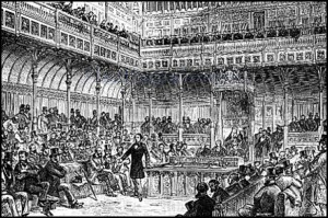 Disraeli introduces his reform act 1867