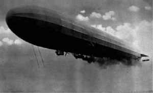 Figure 2 An L10 Zeppelin like the one used the raid