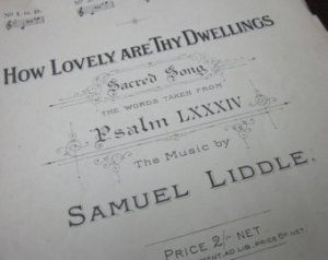 Image of 1900s Psalm Print