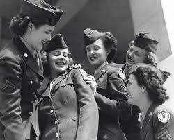 women in the air WACs, 1940s