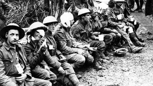 injured soldiers at the somme