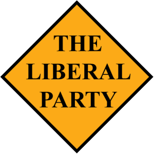 The official logo for the Liberal Party.