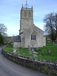 One particular church that George mentions: St Luke's in Priston, Somerset.