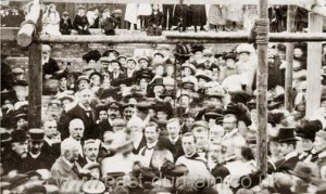 Community event, Dawdon, 1911