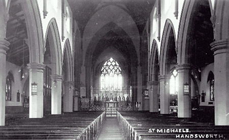 St Michaels Church Handsworth c1901