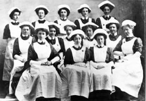 Nurses, late 19th-early 20th century