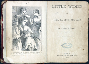 First edition copy of Little Women.